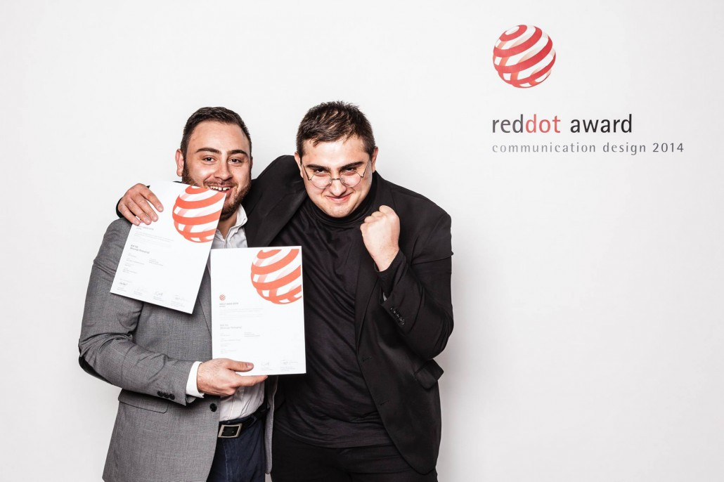 Clubcreativ Red Dot Design Award 2014